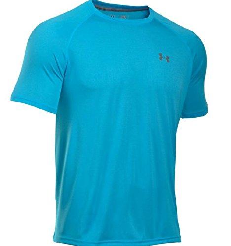 Under Armour Tech T-Shirt, XL, Meridian Blue
