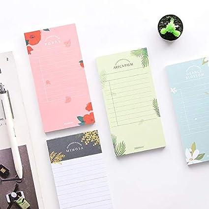 Amazon.com: Tini Notebook - 2Pcs Orange Blossom Memo Pad ...