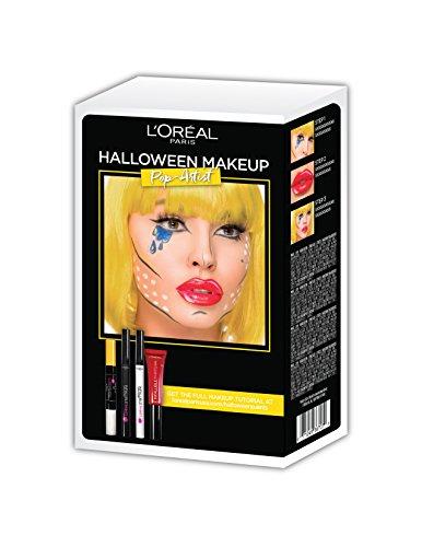 L'Oreal Paris Cosmetics Halloween Makeup Pop Art Kit (Halloween Makeup Pop Art)