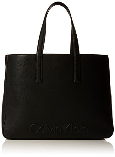 CALVI KLEIN EDGE LARGE SHOPPER 33*42*16 CM Nero (Black)