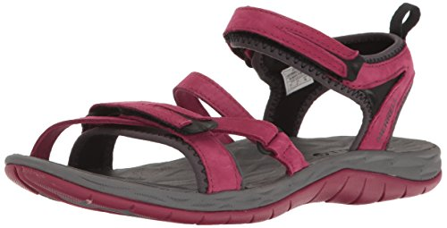 Merrell Women's Siren Strap Q2 Athletic Sandal, Beet Red, 8 M US by Merrell