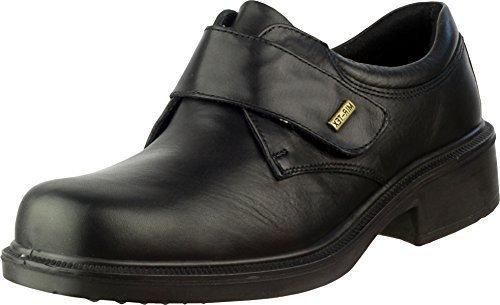 Noir Enfiler Simple Bottes Imperméables 100 Cotswold Fermeture Hommes Cuir À Cleeve Chaussures CUaAqa