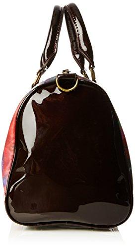 Rouge Mano Rosso Farfalla a 3007 Borgoña Borsa Desigual wxXTzp