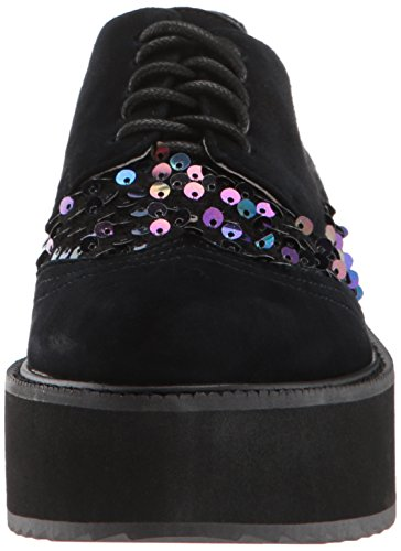 Shellys London Donna Nocciola Oxford Nero