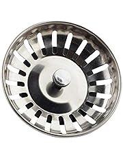Guangcailun 1pc / 4 stuks RVS Kitchen Sink Zeef Waste Sink zeef, wastafel stekkers, spoelbak Filter stopdeksel