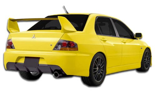 2003-2006 Mitsubishi Lancer Evolution 8 9 Duraflex MR Edition Rear Bumper Cover - 1 Piece