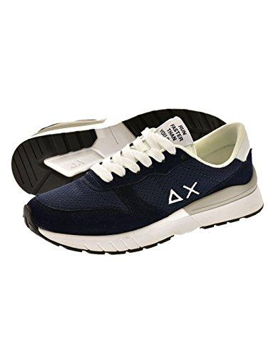Uomo Sneaker Navy blu 07 Blue SUN68 Novita' Z18101 Rvq5qP