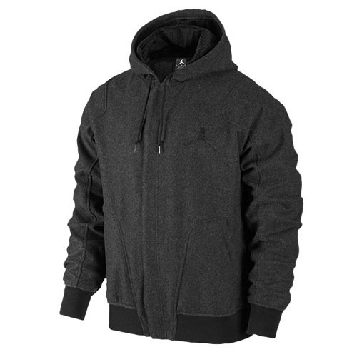 [637881-032] AIR JORDAN WOOL VARSITY HOODY APPAREL APPAREL AIR JORDANGREY by NIKE