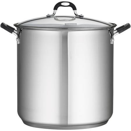 Tramontina 18/10 Stainless Steel 22-Quart Stockpot Covered w