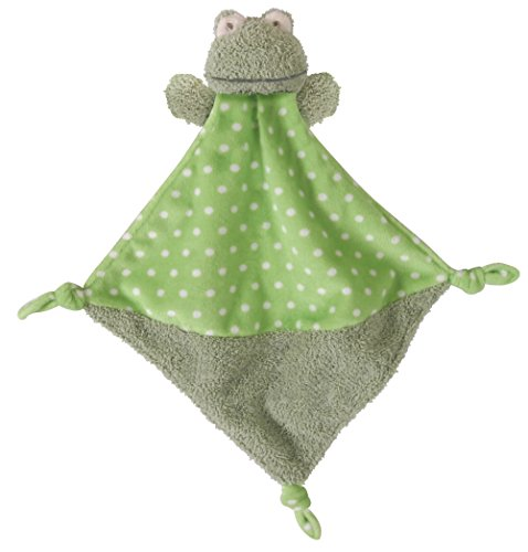 - Stephan Baby Plush Knotty Animal Security Blankie, Frog