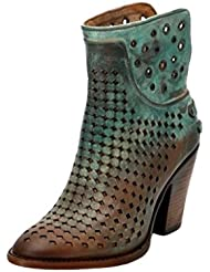 CORRAL Womens Light Studded Short Boot Round Toe - C3146
