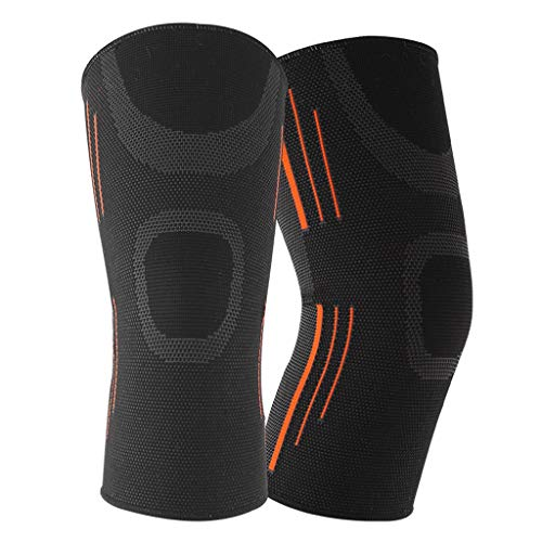 Knee Support - For Advanced Meniscus Tears, ACL, MCL Running And Arthritis Recovery And Compression Sleeves - Best Neoprene Stabilizer Package For Crossfit, Squat And Exercise - For Men And Women (pai from ZHAO YING