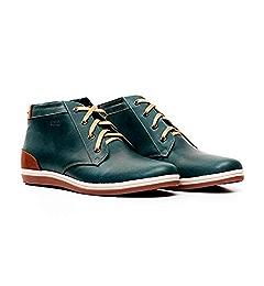 Amazon.com: VELEZ Men Genuine Colombian Leather Lace up Dress Boots Chelsea style Ankle High Chukka Boots | Botas de Cuero Colombianas para Hombre Black 38: ...