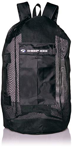 Deep See Heavy-Duty Mesh Backpack
