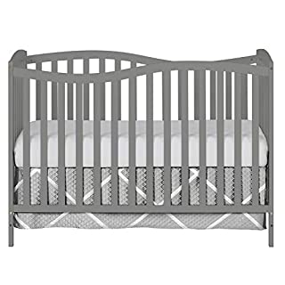 Dream On Me Chelsea 7-in-1 Convertible Crib, Storm Grey
