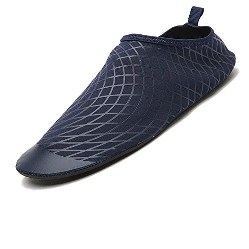 Badeschuhe Strandschuhe Aquaschuhe Wasserschuhe Surfschuhe Schwimmschuhe für Damen Herren Kinder Rutschfeste Neoprenschuhe Model Tt