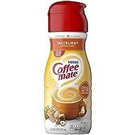 Coffee Mate Liquid Creamer, Hazelnut, 16 oz., 6 Count
