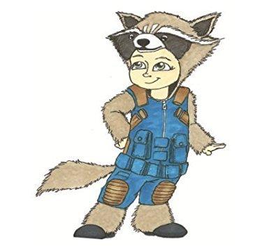 Halloween Rocket Raccoon (Princess Paradise Unisex Child 6062_1218 Rocket Raccoon Costume, 12-18m,)