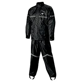 Nelson-Rigg SR-6000 Stormrider Unisex Rain Suit (Black, XXX-Large)