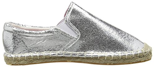Another Pair of Shoes Ema K1 - Alpargatas para Mujer Plateado (Silver100)