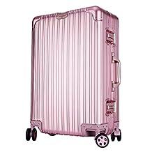 Hanke Unisex Aluminium Magnesium Metal Luggage High-end Travel Suitcase