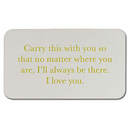 Engraved Wallet Inserts -
