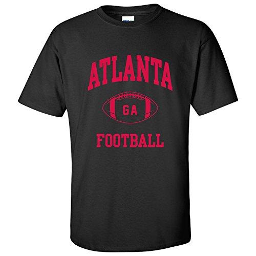 Atlanta Classic Football Arch Basic Cotton T-Shirt - Small - Black