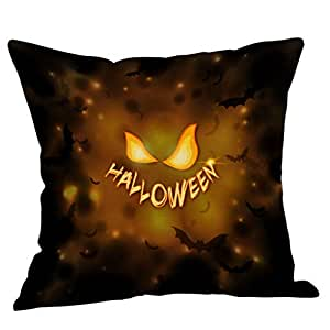 CLOOM Funda Cojines 45x45 cm Halloween Pillow Cover Fundas ...
