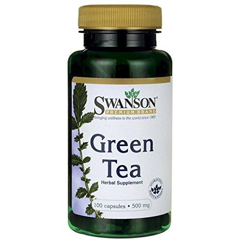 Swanson Green Tea 500 Caps