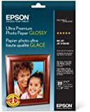 Epson Ultra Premium Photo Paper GLOSSY (5x7 Inches, 20 Sheets) (S041945)