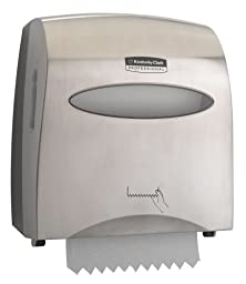 Kimberly-Clark Slimroll 13567 Hard Roll Towel Dispenser, 12\
