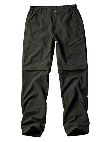 Gooket Women's Water-Resistant Quick Drying Outdoor Sports Climbing Hiking Convertible Pants