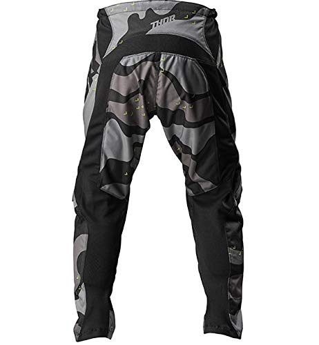 Thor Sector Camo Mens MX Offroad Pants Gray