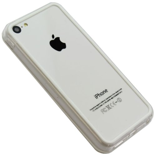 G4GADGET® Iphone 4S/4 Silicon Bumper White/Grey