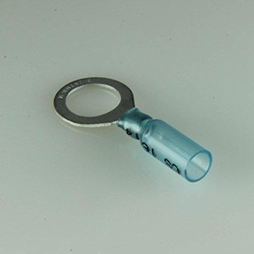 16-14 Ga. Heavy Duty Heat-Shrink Ring Terminals, 1/2