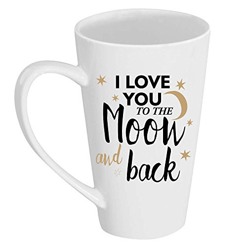 I Love You to the Moon and Back Tall 17 oz Latte (Abby Mug)