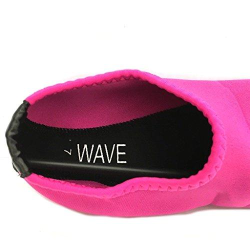 Easy USA Damen Aqua Wave Wasser Schuhe Socken 1199l H.pink