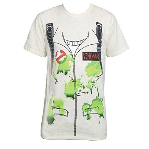 Ghostbusters T Shirt (Ghostbusters Venkman Slime Costume T Shirt Mens)