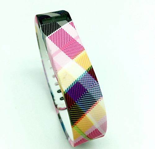 Smart Tech Luxury Colorfull Squared Style Replacement Band With Clasp for Fitbit FLEX Only /No tracker/ Wireless Activity Bracelet Sport Wrist band Fit Bit Flex Bracelet Sport Arm Band Armband