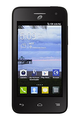 TracFone Alcatel Pop Star 4G LTE Prepaid Smartphone (90 days of service 2000texts/1000minutes/500mbdata)