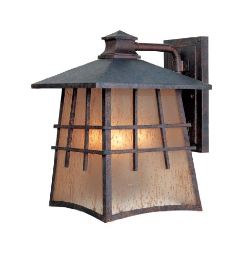 Mission Style Outdoor Hanging Light