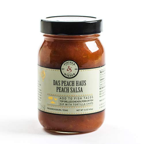 Fischer and Wieser Salsa - Das Peach Haus (12 ounce)
