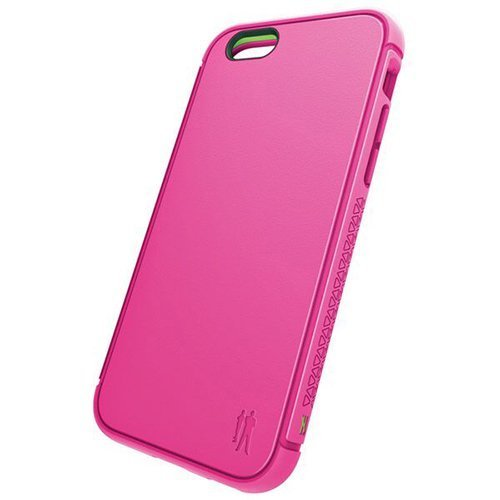 BodyGuardz Shock Case with Unequal Technology for Apple iPhone 6 Plus / 6s Plus - Retail Packaging - Pink ()