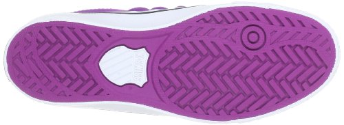 K-swiss Adcourt Cvs-l Vnz Mujeres Sparkling Grape / Blanco / Negro Sneakers Uk 8 / Us10