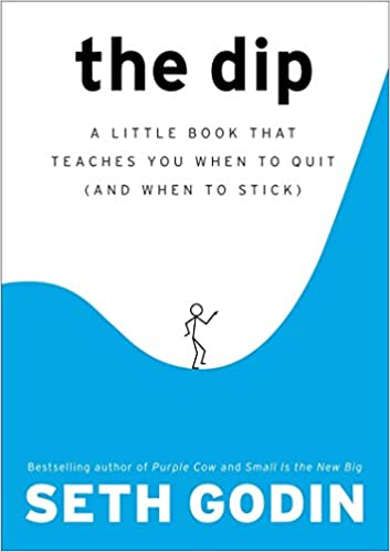 Cover of The Dip by Seth Godin