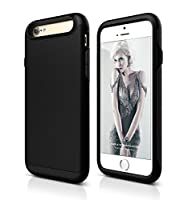 iPhone 6/6 Plus Case By Grey Technology -Apple Hybrid Protective Cover With Rubber & Hard Shell-Shockproof, Slim & Dual Layer Defender Case -Anti-Slip & Ultra-Thin Bumper Protector, Colors Gunmetal Grey & Matte Black