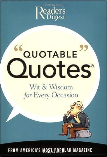 Quotable Quotes Reader's Digest 60 Amazon Books Magnificent Quotable Quotes