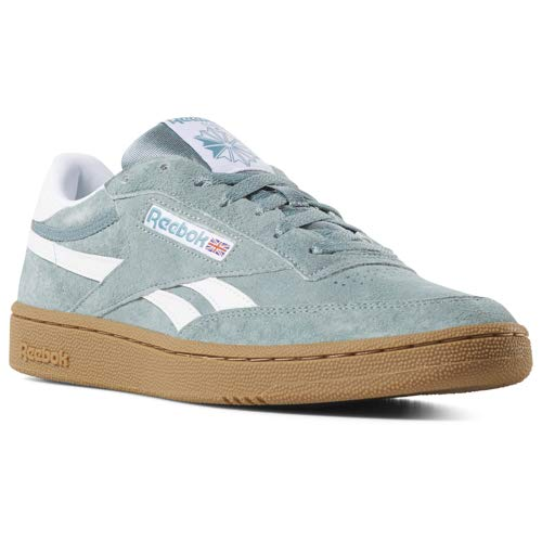 - Reebok Men's Revenge Plus, Teal Fog/Mineral Mist/White, 10 M US