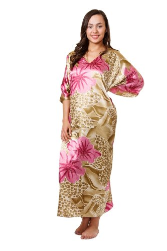 Up2date Fashion Caftan/Kaftan with Cool Lilac Print Style-Caf61
