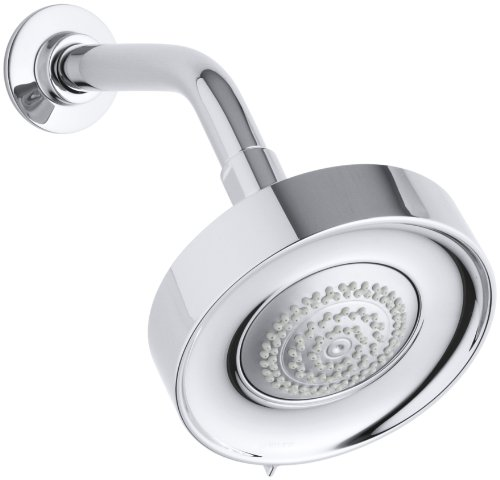 Kohler K-997-CP Purist 1.75 GPM Showerhead, Polished Chrome